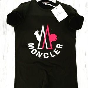 MONCLER MEN SHIRT BLACK BRAND NEW
